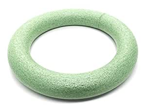Floral Foam Ring Dense Material, 10 Inch Green
