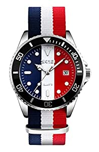 Casual Watch For Men Analog Fabric