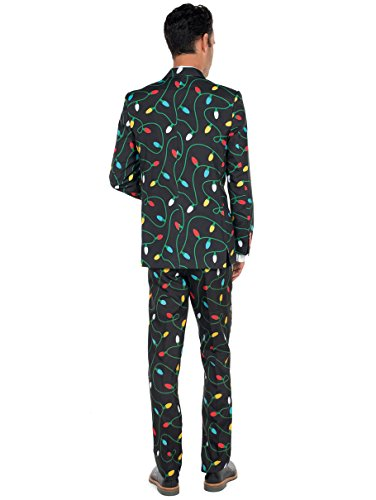 Tangle Wrangler Holiday Christmas Suit - Ugly Christmas Sweater Party Suit
