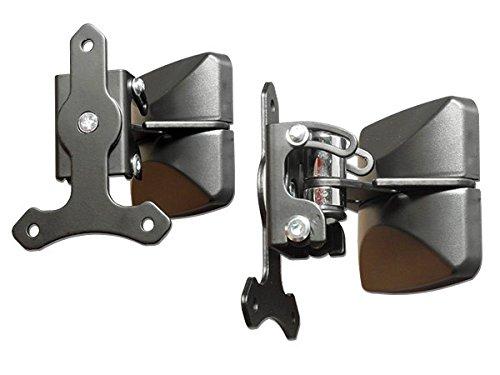 BS14x2 DRALL INSTRUMENTS 2 St/ück Wandhallter f/ür Lautsprecher schwenkbar//neigbar//drehbar Audio Boxen Speaker Halter Modell