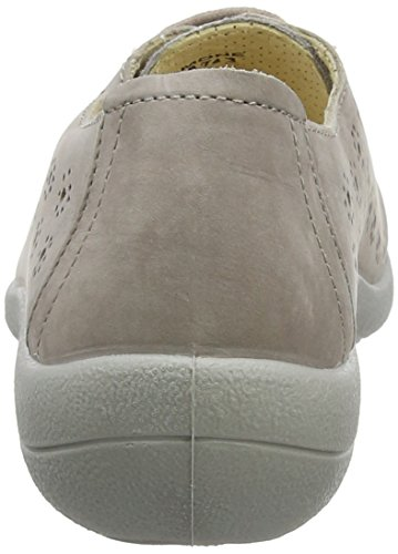 para Lt Cordones Zapatos 42 Padders Derby de Mujer Ramone EU 74 Taupe 1AtwqX