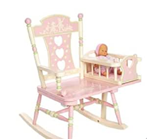 kids girls baby pink rocking chair bedroom furniture new clearance