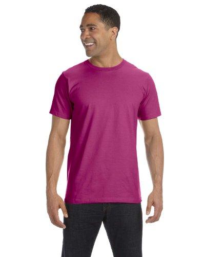 Anvil Organic T-Shirt, Small, Raspberry