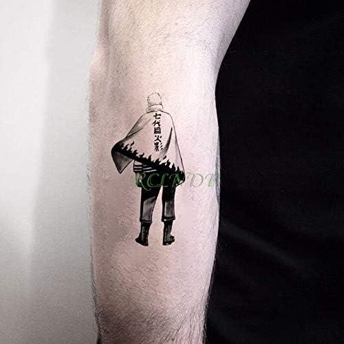 tzxdbh Etiqueta engomada del Tatuaje Temporal Impermeable Naruto ...