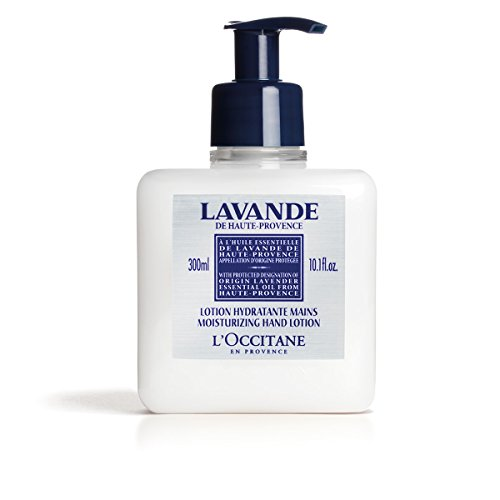 L Occitane Lavender Moisturizing Hand Lotion Enriched with Shea Butter and Relaxing Lavender Essential Oil