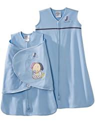 HALO SleepSack 5-Piece美国HALO宝宝纯棉安全睡袋床单5件套蓝色小狗狗$46.37