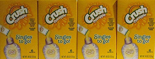 Crush Pineapple Singles to Go Sugar Free Non-Carbonated