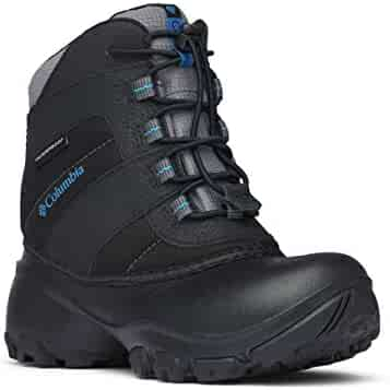 Columbia Unisex-Kids Youth Rope Tow III Waterproof Snow Boot