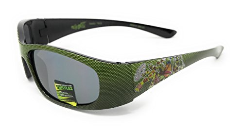 Nickelodeon Teenage Mutant Ninja Turtles Kid's Sunglasses in Green - 100% UV Protection