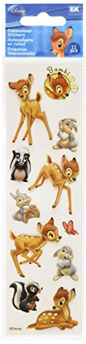 - Disney Bambi Dimensional Sticker