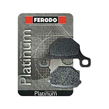 Rear for 93 Suzuki GSX1100G Ferodo Platinum Organic P Brake Pads