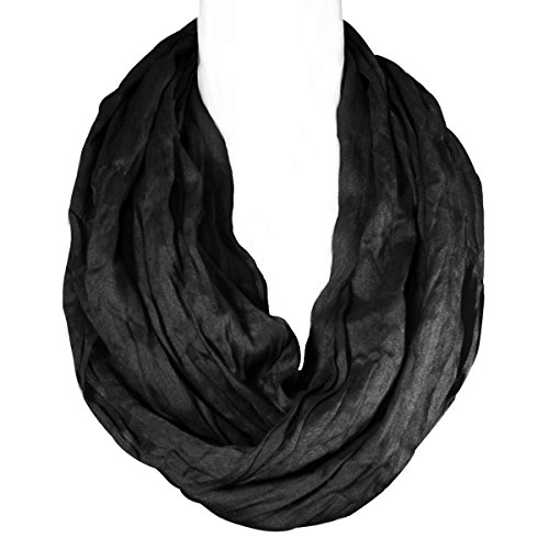 Wrapables Lightweight Silky Infinity Scarf
