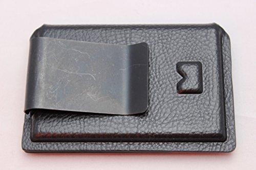 Multi Holsters BMT 2.0 con Clip de Dinero Minimalista Kydex portafolios, Negro Raptor