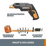 WORX WX255L SD Semi-Automatic Power Screw Driver