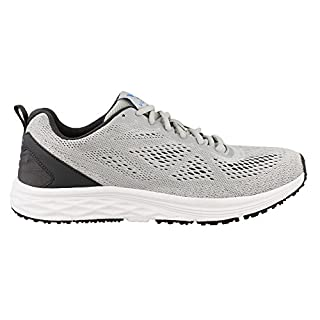 Vionic Men's Fulton Tate Sneakers - Walking Shoes with Concealed Orthotic Arch Support Grey 11 M US