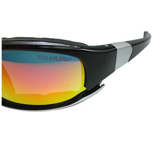 POLARLENS SERIES P15-01 Lunettes de velo cyclisme / Lunettes de sport / Lunettes de soleil / Lunettes de ski + sac en micro-fibre 7eb9rn