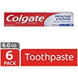 Colgate Baking Soda and Peroxide Whitening Toothpaste - 6 ounce (6 Pack)