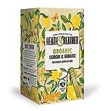 Heath And Heather Ginger & Lemon Herbal Tea 20 Bags