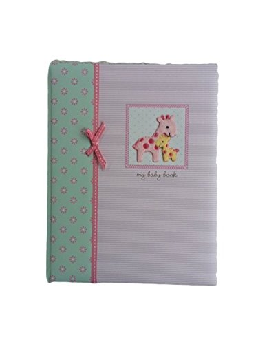 Carters Baby Memory Book Girls Baby Book Pink,Baby Album, Record Keeping Book