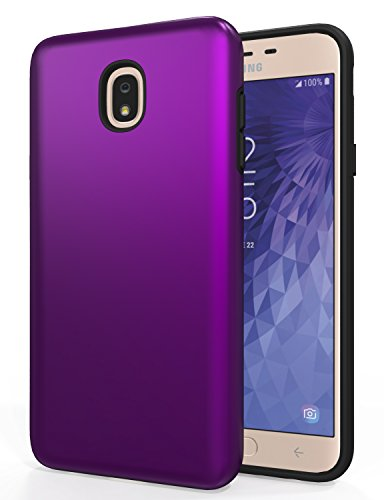 SENON Slim-fit Shockproof Anti-Scratch Anti-Fingerprint Protective Case Cover for Samsung Galaxy J7 Aero/J7 Star/J7 Top/J7 Crown/J7 Aura/J7 Refine/J7 Eon/J7 2018,Purple
