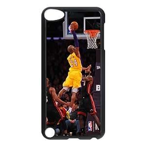 The NBA star Kobe Bryant for Apple iPod Touch 5th Black Case Hardcore-3 hjbrhga1544