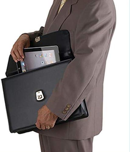 ビジネスバッグ メンズ カブセ クラッチバッグ B4 A4 38.5cm フェイクレザー 黒 ブラック CWH191211-15