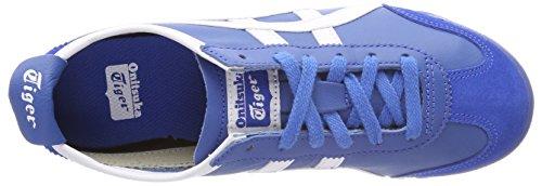 Asics Unisex-volwassenen Messico 66 Fitnessschuhe Blau (klassieke Blauw / Wit 4201)