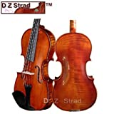 D Z Strad Viola Model 101 Handmade with Case and Bow-15