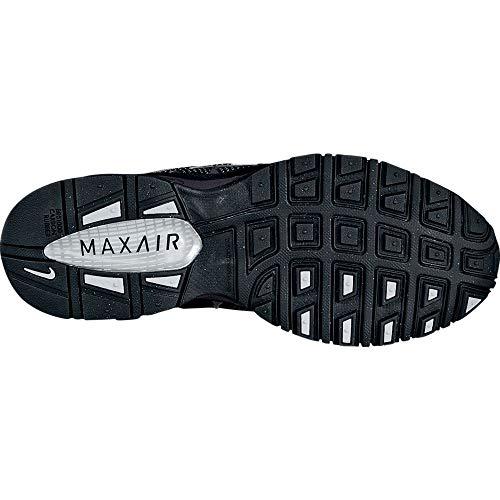 Nike Men's Air Max Torch 4 Running Shoe #343846-002, Anthracite/Metallic Silver-black, 9 D(M) US -