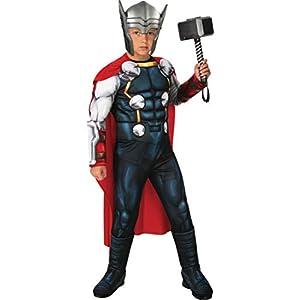 Rubie's Boy's Marvel Avengers Deluxe Thor Costume, Medium