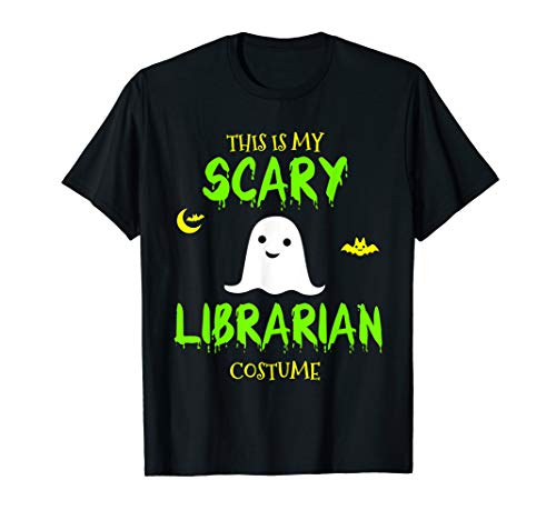This Is My Scary Librarian Costume Halloween T-Shirt]()