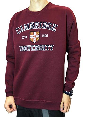 (Official Cambridge University Applique Sweatshirt - Official Apparel of the Famous Univeristy of Cambridge)