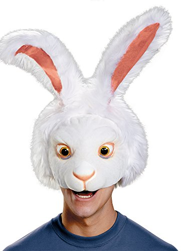 Adult White Rabbit Costume (Rabbit Head Costume)