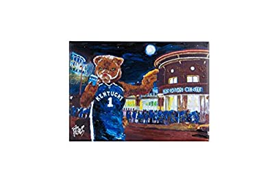 Glory Haus Kentucky Rupp Arena Canvas, Multicolor