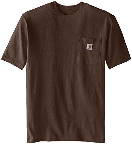 Carhartt Mens  Workwear Pocket Short Sleeve T-Shirt K87