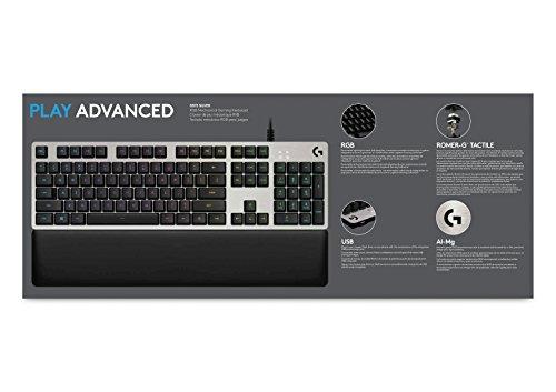 logitech g513 silver wired gaming keyboard 920 008721 pcpartpicker australia. Black Bedroom Furniture Sets. Home Design Ideas