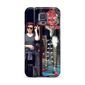 Shock-Absorbing Hard Phone Cover For Samsung Galaxy S5 (RfS2159hitX) Provide Private Custom Lifelike Grateful Dead Pattern