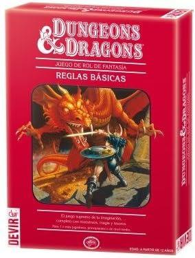 Dungeons & Dragons Caja Roja 4ª Ed: Amazon.es: Juguetes y juegos