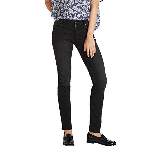 Black Femme 6R Wrangler Nighttime Jeans Noir I7qw0z4