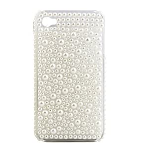 JAJAY- ships in 48 hours Protective PVC Case with Jewel Cover for IPhone4