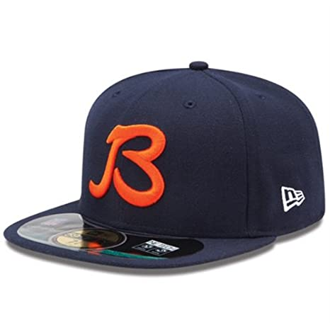 d7e97638438b0 ... clearance chicago bears b on field performance 59fifty fitted hat by  new era select 197f2 e4237