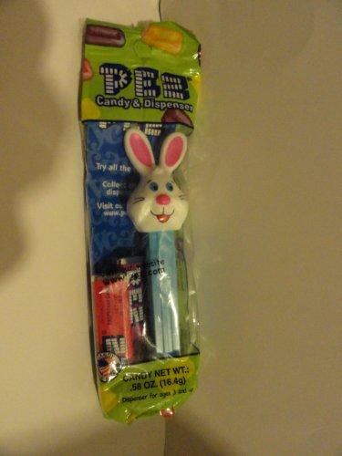 Pez White Bunny with Big