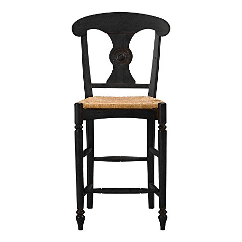 Ethan Allen Caroline Counter Stool, Charcoal ()