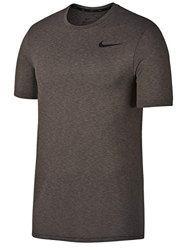 Nike Legend Short Sleeve Tee (Sepia Stone/Ridgerock/Black, Large) (Nike Legend)