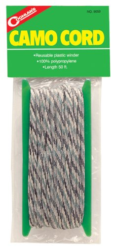 Coghlan's 9050 Camouflage Poly Cord 50'