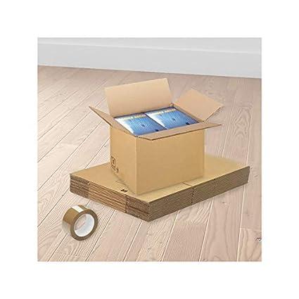 Cajas estándares para mudanzas - 20 Unidades
