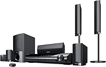 sony home theater system. sony bravia dav-hdx589w 5.1-channel theater system (black) (discontinued by home e