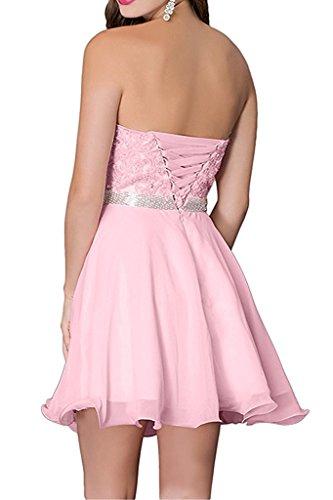 Spitze Marie Kurz Mini La Rosa Partykleider Abendkleider Cocktailkleider Braut Damen Ballkleider Traegerlos IawqwHxO1