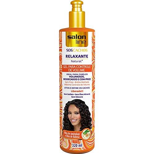 - Linha Tratamento (SOS Cachos) Salon Line - Gel Relaxante Natural Controle De Volume 320 Ml - (Salon Line Treatment (SOS Curls) Collection - Volume Control Relaxing Gel 10.82 Fl Oz)