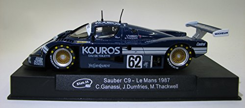 Slot.it Sauber Mercedes C9 Kouros Le Mans 1987 1:32 for sale  Delivered anywhere in USA